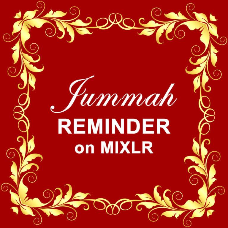Jummah Reminder